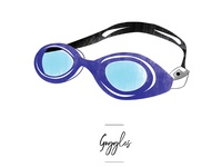 Goggles icon for wedding seating chart.