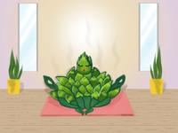 Artichoke yoga