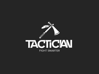 Tactician Logo branding logodesign typography graphic design