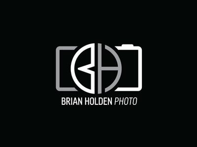 Brian Holden Photo badge mark branding hand-lettering graphic design logo design