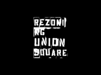 Rezoning Union Square Logo - Personal Project