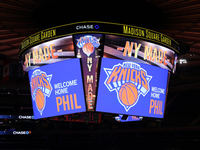'Welcome Home Phil' Graphic