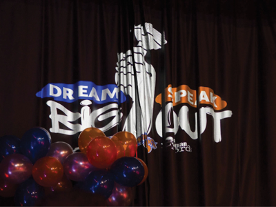 Dream Big Speak Out Logo
