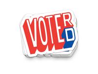 VOTE(R) or VOTER(D)