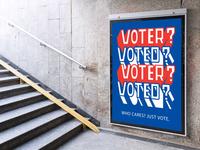 Vote(R)? Vote(D)? Just Vote.