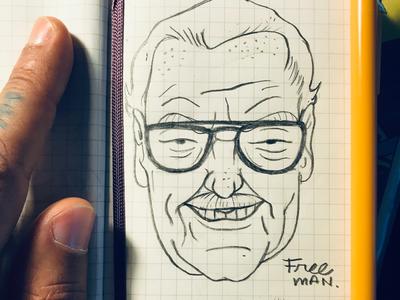 Stan Lee Sketch