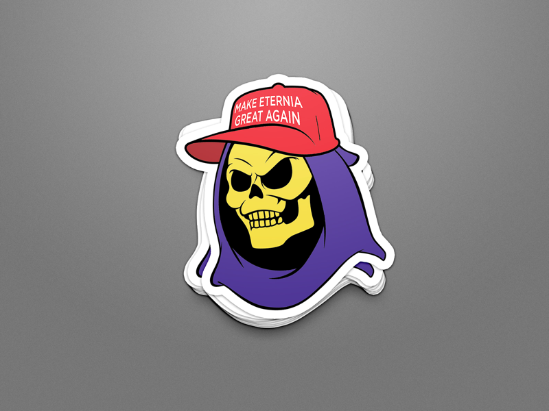 Make Eternia Great Again! vectorart vector typespire typedesign photoshop illustrator graphicdesign graphicart flatdesign enamel pin digitalart design creative cartoon branding brandidentity art