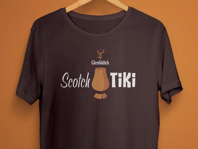 Glenfiddich Scotch Tiki T-Shirt apparel clothing shirts fashion tshirt tiki scotch tampa bay usbg
