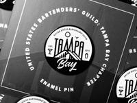 USBG Tampa Enamel Pin