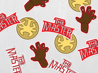 The Last Dragon Stickers