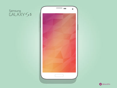 Samsung Galaxy S5 Mockup samsung galaxy s5 mockup flat design ui psd vector