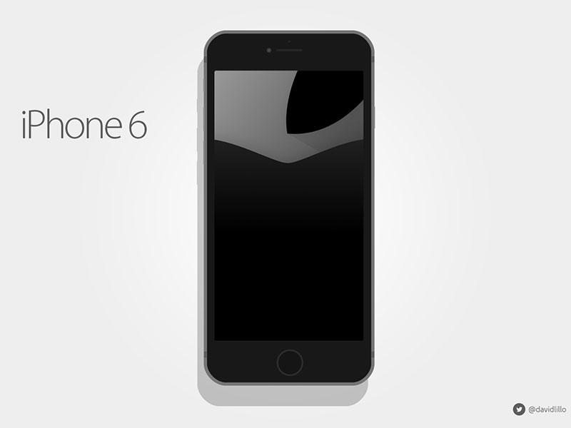 Iphone 6 Flat Mockups iphone 6 flat mockup psd vector design ui