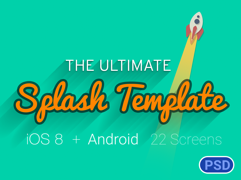 splash screen template the ultimate by creame dribbble dribbble