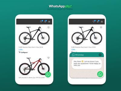 WhatsApp me! ux ui plugin wordpress design interface