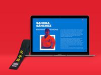 🥋 Sandra-San Website.