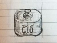 Sketch icon Acqua di Gió, Armani