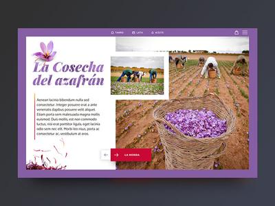 New saffron ecommerce webdeveloper uidesign userinterface interface ux ui webdesign