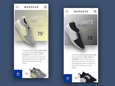 Sneakers App UI Design mobileapp webdesigner uxdesign webdesign uidesign interface appdesign userexperience userinterface ui ux