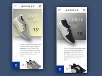 Sneakers App UI Design