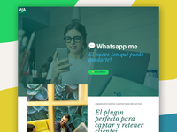 """Whatsapp me"" landind page"