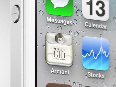 Armani Icon Iphone