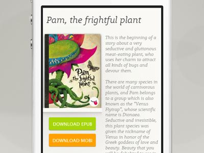UI eBook download iphone responsive byeink