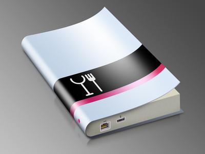 eBook Icon icon ebook metal