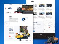 New Landing web page ui design