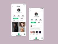 Photography Mobile UI