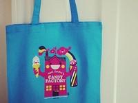 Aunt Sandra's T-shirt & Tote Bag Illustration
