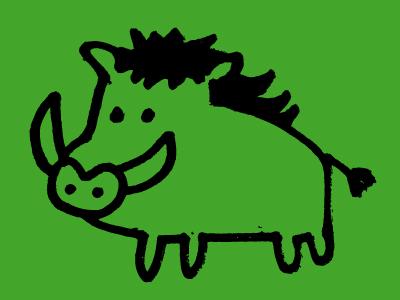 Dribblewarthog