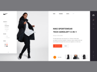 Redesign of Nike Product Description Page