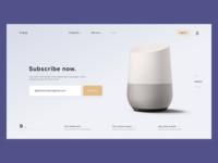 Shopping,Startup website header.