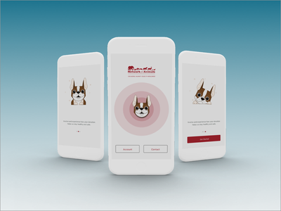 Network for animals game app walkthrough dog animal illustration illustration threed animal donation donation network for animals