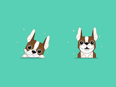 Illustration mobile app blue theme trending find restaurants search food around shot ux ui designing dogs illustration character designing