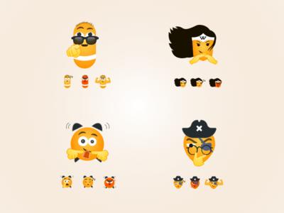 Emojis for medical app