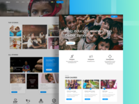 Website for NGO