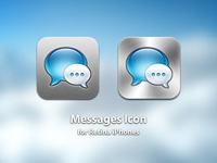 Messages Icon for Retina iPhones