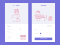 Candy Delivery card