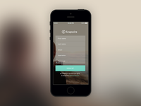 Snapwire iOS Signup
