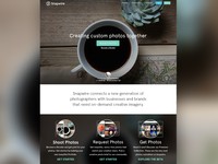 Snapwire Landing Page