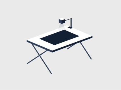 Drafting Desk architecture desk procore construction illustration