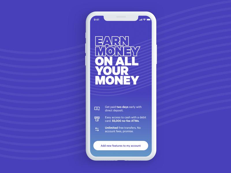 A Visually Louder Variation for Merch Screen finance design branding ui mobile