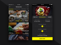 Book restaurants iOS app