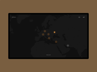 IQOSA — Animated Projects Map Page