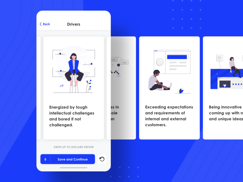 Avenue - Mobile App Design minimal user interface illustration screen iphone design ux app ui