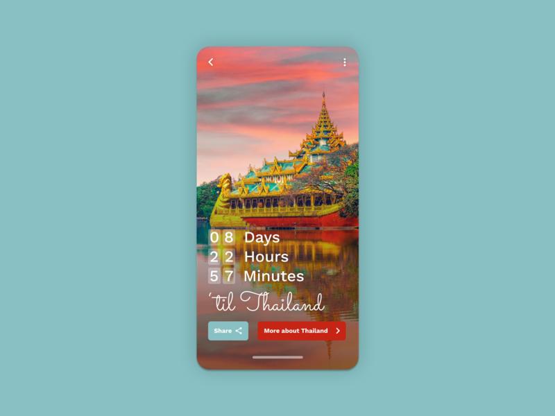 Countdown Timer - Daily UI #014 countdowntimer countdown dailyui 014 dailyuichallenge product design dailyui app ux ui design