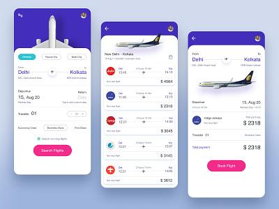 Flight booking app flight app search results figma color ux ui creative clean designs ecommerce design mobile app design mobile ui app design flight search flight booking