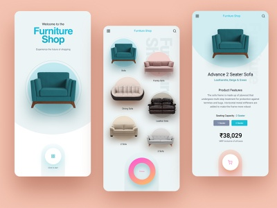 Shopping Experience 100daychallenge daily ui online marketing branding clean figma concept ux ui creative design online shop ecommerce online shopping
