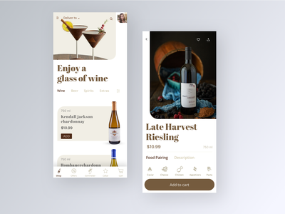 Alcohol e-commerce 2019 trend hungry resturant food drink alcohol wine